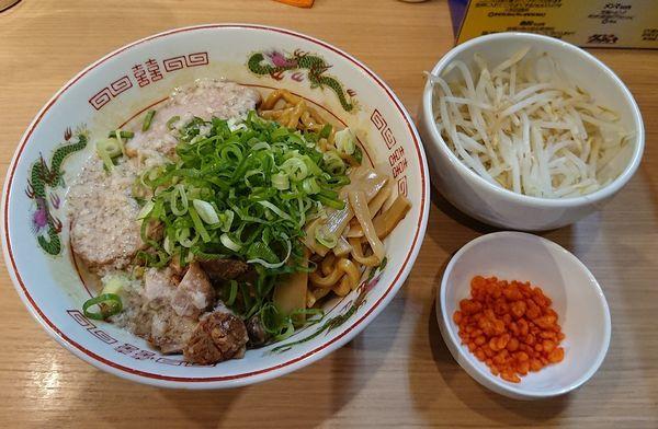 「オーションのなまらアブラSOBA @890円 平日限定」@らー麺 シャカリキの写真