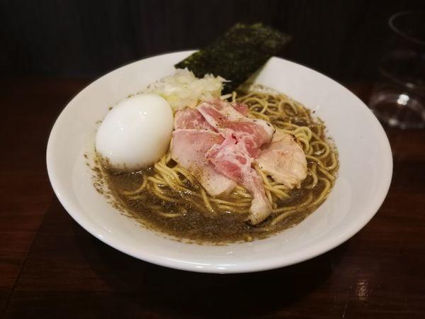 「味玉煮干し中華蕎麦」@煮干し中華蕎麦 山崎の写真