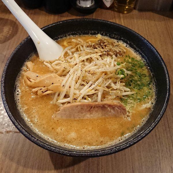 「味噌らーめん  @830円 10食限定」@らーめん つけ麺 NOFUJIの写真