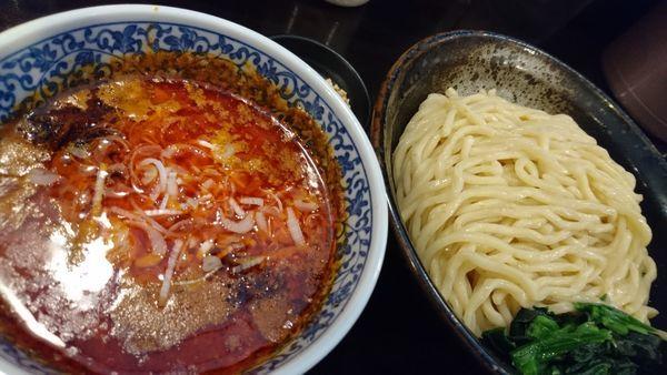 「坦々つけ麺 大盛」@ほうきぼし+の写真