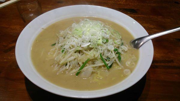 「もやし味噌らーめん760円+他」@火門拉麺の写真