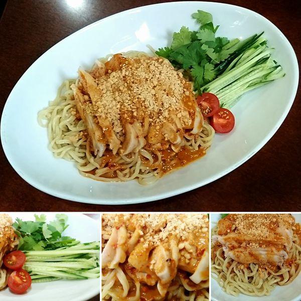「棒々鶏冷やし麺(夏季限定)  800円」@晴々飯店の写真