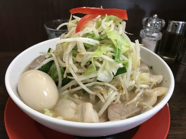 「特製たけちゃんタンメン+野菜増し」@竹ちゃんタンメンの写真