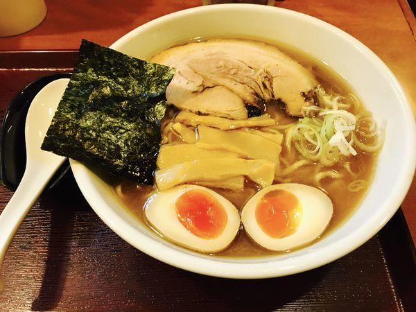「中華麺+味玉」@めん 和正の写真