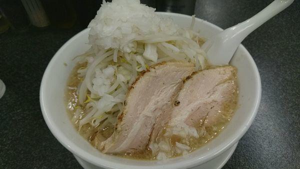 「正油 豚2枚_750円」@らうめん さぶ郎の写真