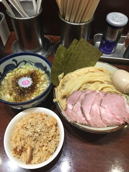 「つけめん 特製トッピング」@煮干中華そば 鈴蘭 中野店の写真