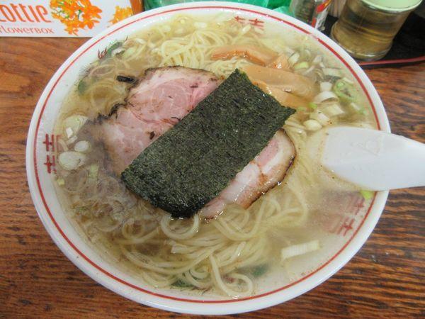 「塩ラーメン(750円)」@米屋の写真