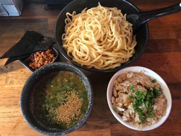 「つけ麺」@とんこつ名人 かつみ屋 本店の写真