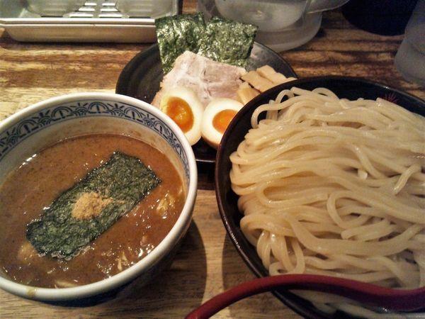 「三田盛つけ麺+大盛」@つけ麺専門店 三田製麺所 有楽町店の写真