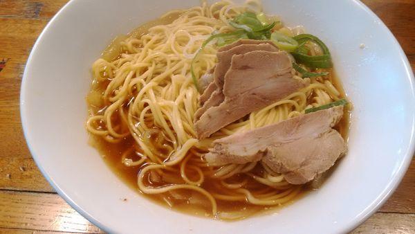 「肉そば」@自家製麺 伊藤の写真