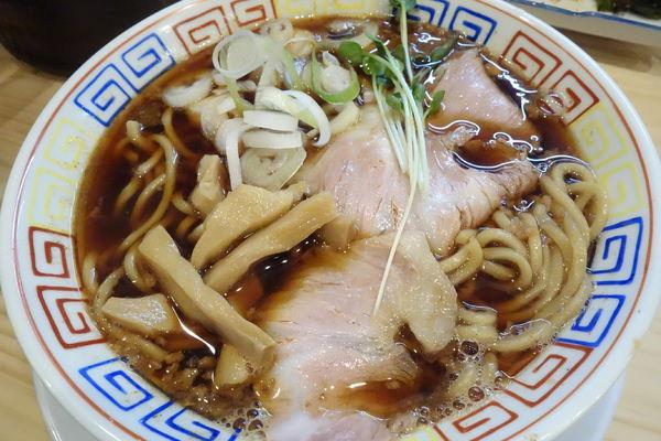 「サバ醤油そば+半焼き飯 他」@サバ6製麺所 仙台中倉店の写真
