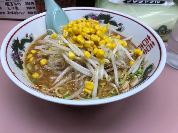 「味噌ラーメンと餃子」@ラーメン 蓮の写真
