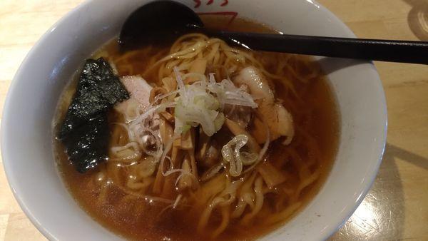 「醤油ラーメン」@麺や 松の写真