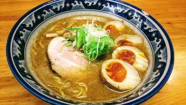 「味噌ラーメン玉子」@千寿の写真
