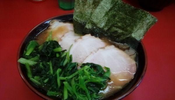 「中盛チャーシュー麺」@田上家の写真