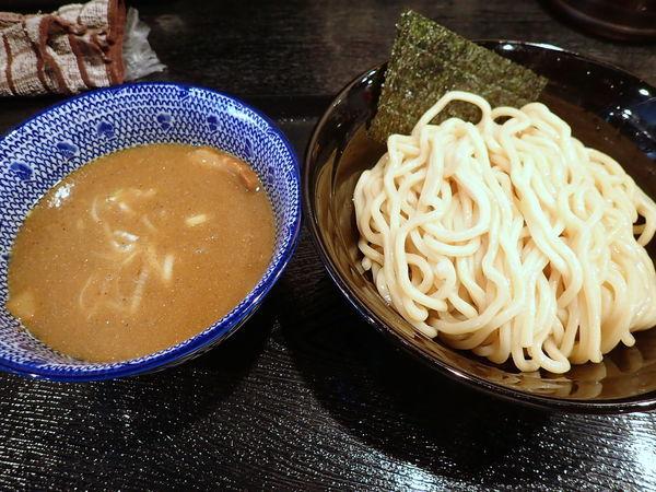 「濃厚魚介つけめん・中盛」@麺屋 中川會 錦糸町店の写真