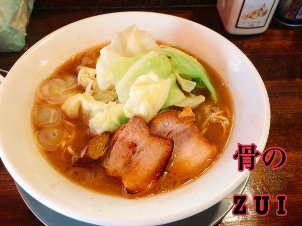 「らー麺¥670」@らー麺屋台 骨のzuiの写真