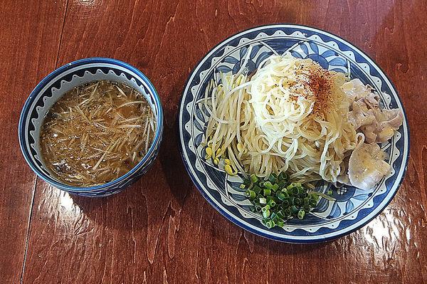 「辛しゃぶ冷やしつけ麺(大盛り)」@ごとくの写真