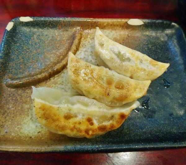 「ランチ半餃子&半ライスセット  150円」@こってりらーめん なりたけ TOKYOの写真