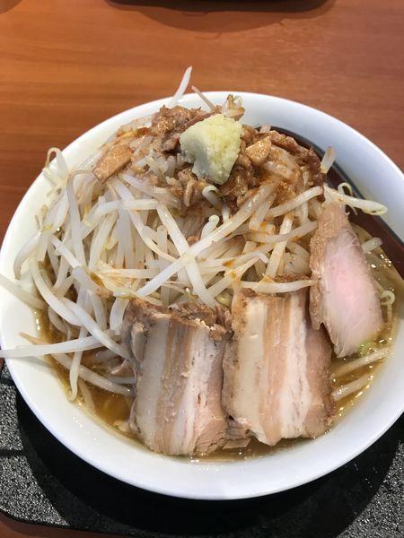「特もやしラーメン➕麺固め」@麺や うから家からの写真