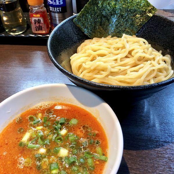 「【限定】濃厚オマールエビつけ麺」@麺屋ひぶたの写真