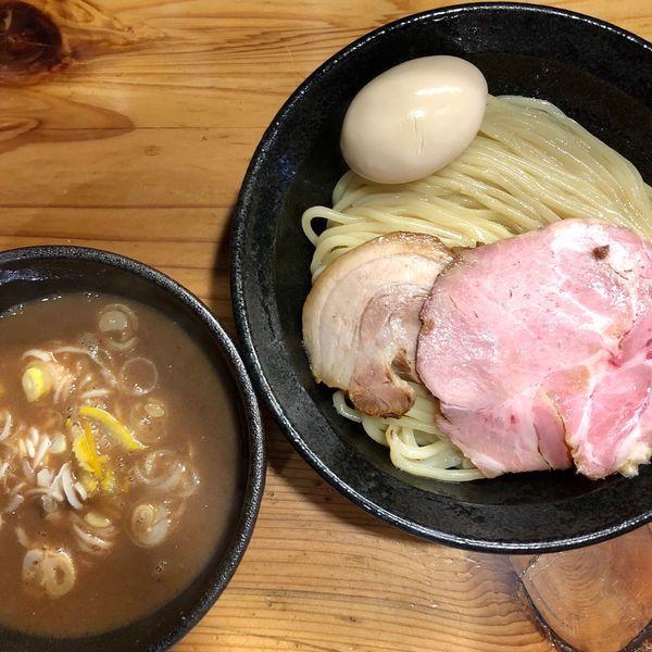 「味玉つけ麺 中 (950円)」@麺や 新倉の写真