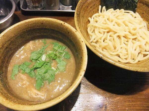 「煮干じめつけ麺(790円)」@二代目えん寺の写真