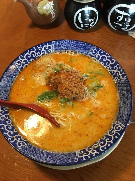 「とんこつ担々麺 830円」@博多ラーメン鶴亀堂 太田新井町店の写真