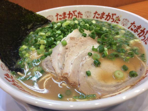 「ネギラーメン¥810」@九州大分らぁめん たまがった 西口店の写真