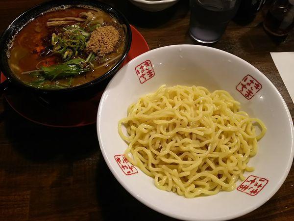 「【限定】カレーつけ麺 並(1.5玉)」@きまぐれ八兵衛の写真
