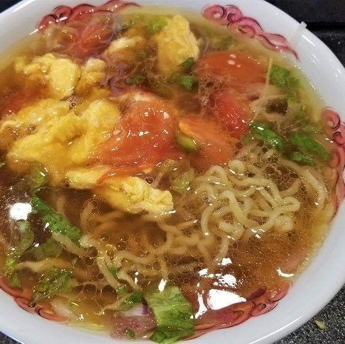 「玉子トマト麺 ¥734」@WOLLONG悟龍の写真