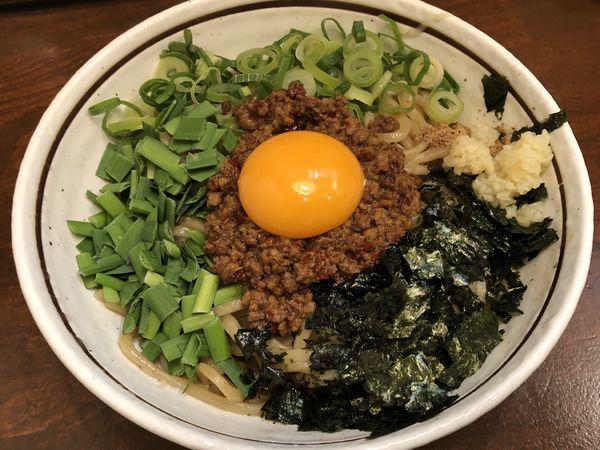 「台湾まぜそば」@麺屋 やまひで 堺筋本町店の写真