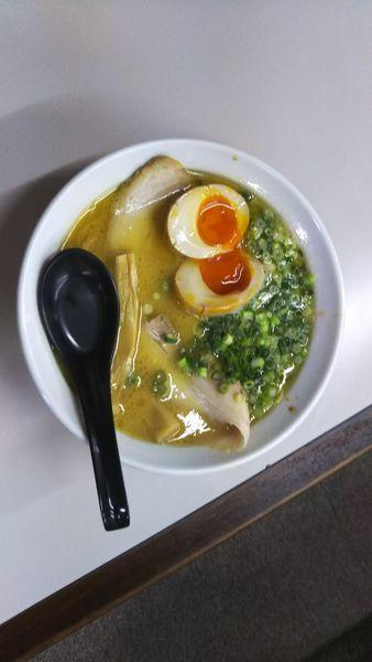 「福島鶏白湯しょうゆ800円」@らぁめん たけやの写真