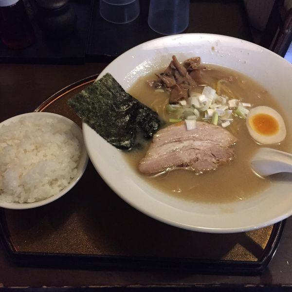 「白味味噌900円+小ライス120円」@信濃神麺 烈士洵名の写真