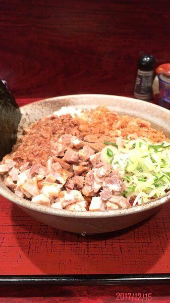 「肉のせまぜそば 渓麺」@食処 渓の写真
