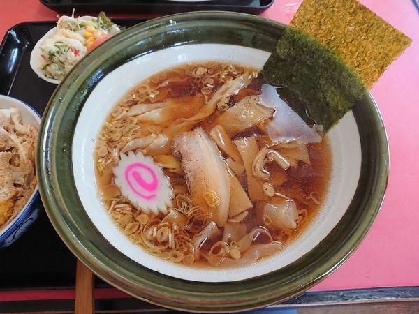 「ラーメン(帯麺) 大盛」@元祖帯麺 梅田飯店の写真