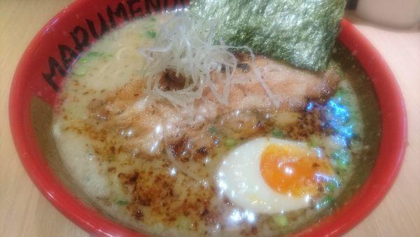 「拉麺」@○麺堂の写真