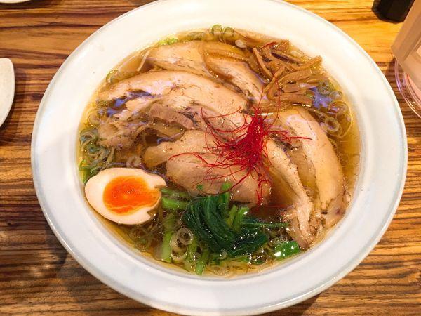 「チャーシュー麺1.5玉/¥1.030」@ラーメン 青 国界 神田小川町店の写真