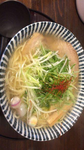 「薫寿(ことぶき)そば 塩味」@めんや 薫寿の写真