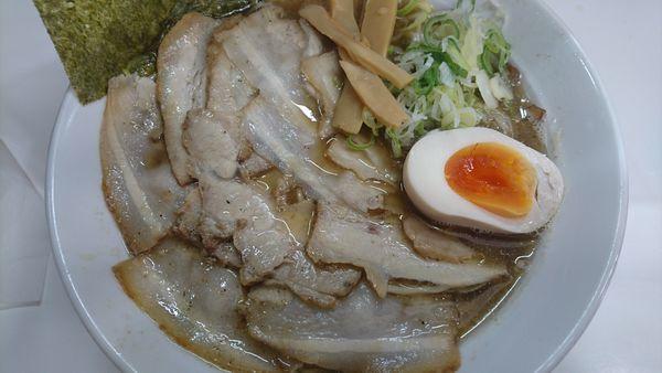 「煮干肉中華そば」@麺屋 にぼすけ 広面店の写真