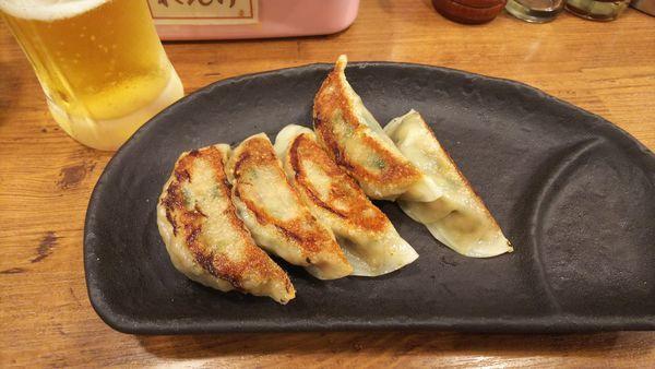 「トクトクセットの餃子」@背脂煮干 丸め 新所沢店の写真
