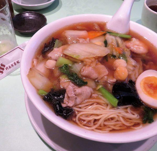 「什景湯麺(1,080円)」@新世界菜館の写真
