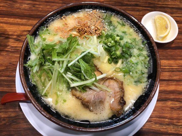 「極み鶏」@横浜家系ラーメン 清六家 守谷店の写真