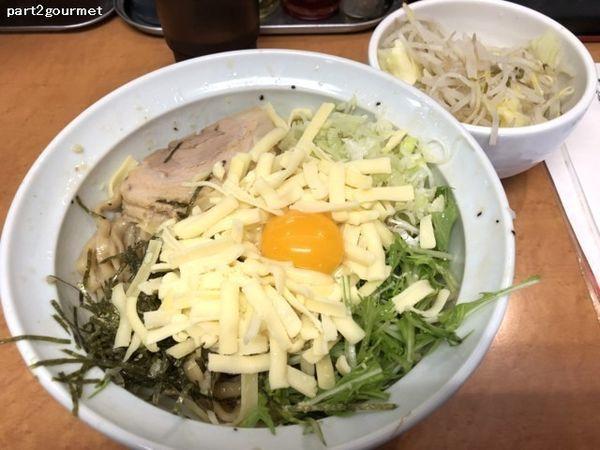 「チーズ玉 まぜそば (900円)」@らーめんコジマルの写真