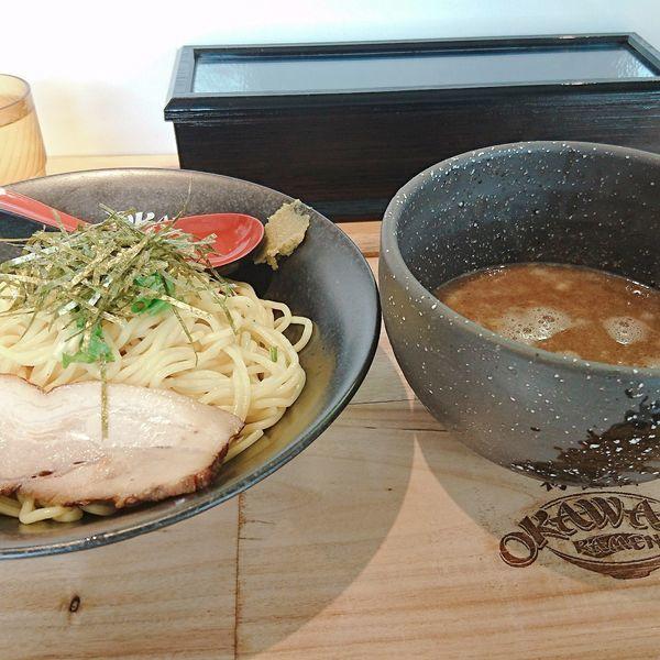 「鶏白湯つけ麺」@らぁめん初代 OKAWARIの写真