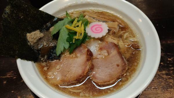 「煮干し中華そば」@にぼしこいしの写真