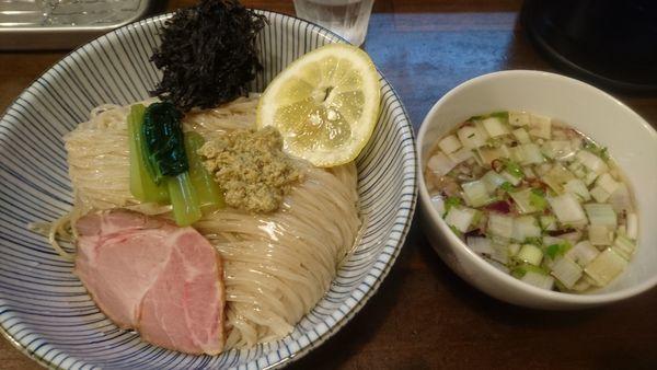 「貝節つけそば」@CLAM&BONITO貝節麺RAIKの写真