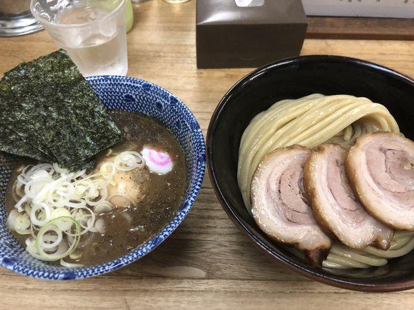 「特製つけ蕎麦・中(980円)」@中華蕎麦 サンジの写真