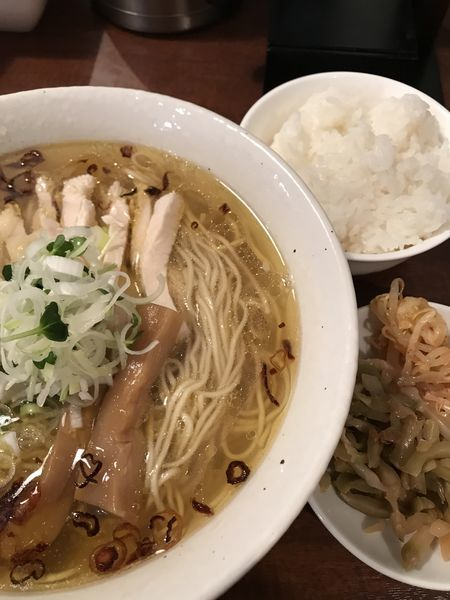 「塩ラーメン」@中華麺酒家 彩華の写真
