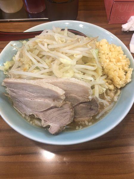 「ラーメン 300g 味濃いめ」@らーめん つけ麺 油そば 郎郎郎 調布店の写真